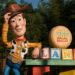 Woody arrives at Toy Story Land in Disney World