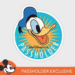 New Donald Duck Annual Passholder magnet coming to Hollywood Studios
